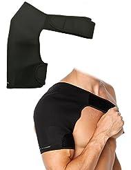 Support d'épaule, soutien-gorge à épaule KIROLAK Courroie de compression à néoprène Ceintures à épaule Basketball Badminton Fitness Shoulder Protector