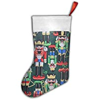 Personalized Nutcracker Christmas Stocking Decorations for Family Festive Holiday
