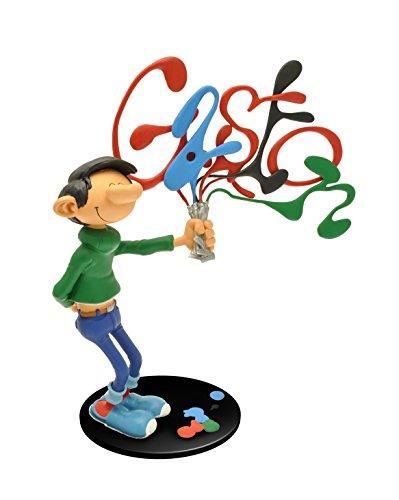 Plastoy - 313 - Figurine Bande Dessinée - Gaston Et Ses Tubes...