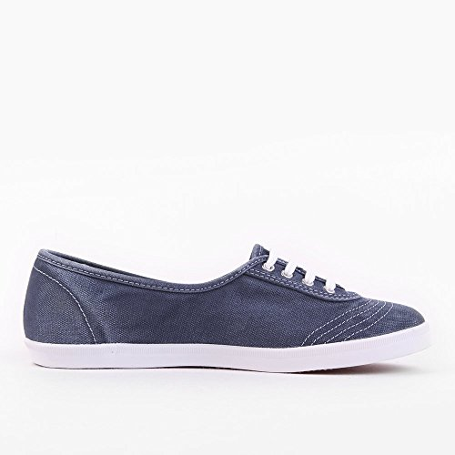 Fred Perry Aubrey Overdyed Canvas Navy Blue