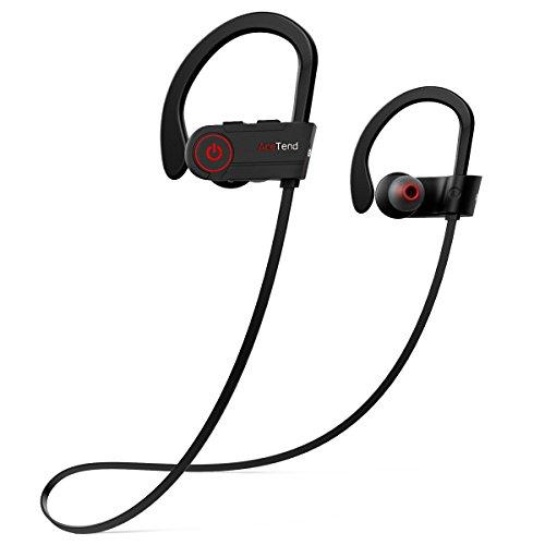 Bluetooth Kopfhörer, AceTend Bluetooth Kopfhörer Sport V4.1 In Ear Wireless Headset IPX7 Wasserschutz Ohrhörer mit Mikrofon für iPhone, iPad, Samsung und mehr