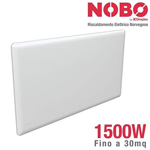 Radiatore elettrico norvegese NOBO 1500W, ideale fino a 20 m², completo di...