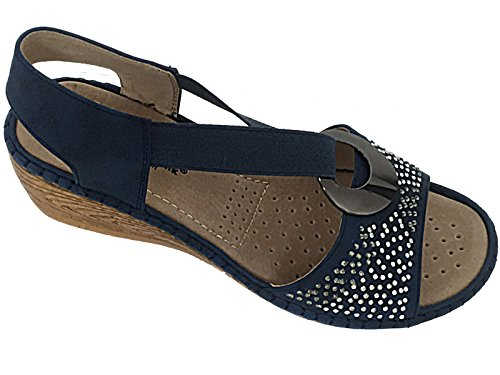 Cushion Walk ,  Mädchen Damen Sling Backs Blau