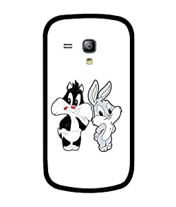 Chnno 2d BUGS BUNNY Printed Back Cover For Samsung Galaxy S Duos