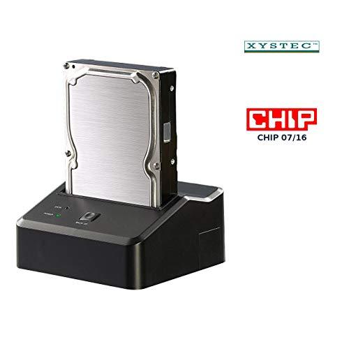 "Xystec USB-3.0-Dockingstation DSU-3200 Duo für 2,5\""- & 3,5\""-SATA-HDDs"