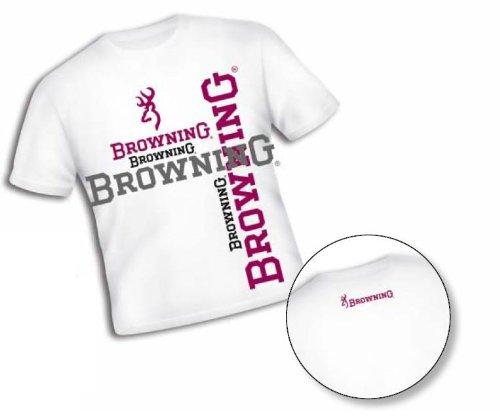 Browning T-Shirt, weiß, gr.XS (T-shirts Browning)