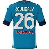 SSCN6|#SSC Napoli Maglia Camiseta réplica Home 2020/21 Koulibaly, Unisex Adulto