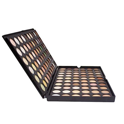 DISINO Eyeshadow Palette,Bold and Bright Collection, Vivid,Eyeshadow Eye Shadow Palette Makeup Kit Set(120 Eyeshadow Palette) - Pattern 4