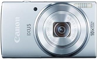 Canon IXUS 155 Digitalkamera (20 Megapixel, 10-fach opt. Zoom, 6,8 cm (2,6 Zoll) LCD-Display, HD-Ready) silber