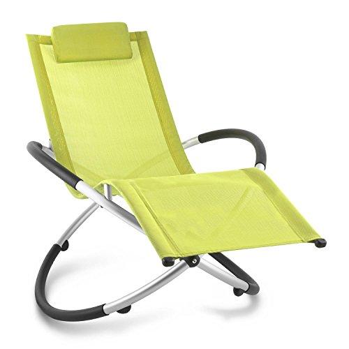 blumfeldt Chilly Billy ergonomische Relaxliege Liegestuhl Gartenstuhl Klappstuhl