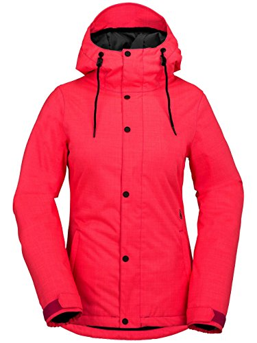Volcom Snowboard Chaqueta Bolt Insulated ULA Ted Jacket, Electric Rosa, s, h0451708epk