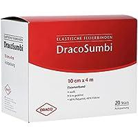 DRACOSUMBI Fixierbinde 10 cmx4 m weiß 20 St Binden preisvergleich bei billige-tabletten.eu