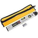 YOTINO Digitaler Winkelmesser mit LCD Display Neigungsmesser Winkelmesswerkzeug für vertikale horizontale Wasserwaage