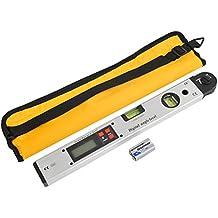 rayinblue 360//° Elektronische Winkelmesser Digital Goniometer Winkelmesser Miter Gauge Lineal 17,8/cm