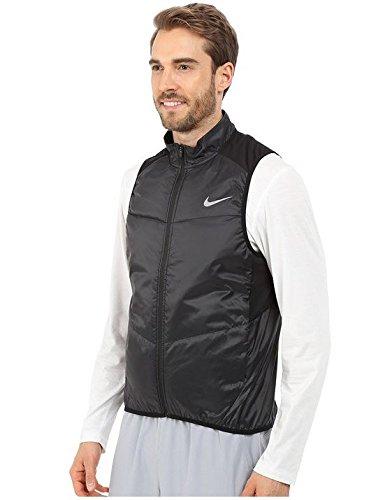 Nike Herren Polyfill Vest Laufweste BLACK