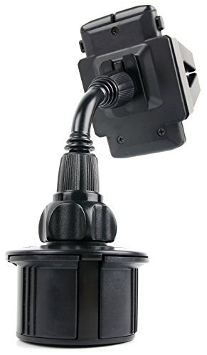 DURAGADGET 2 in 1 PKW-Halterung für Becher-Haltervorrichtung und Lüftungsschlitz für Caterpillar CAT S61 | S41 | S31 Outdoor-Smartphones