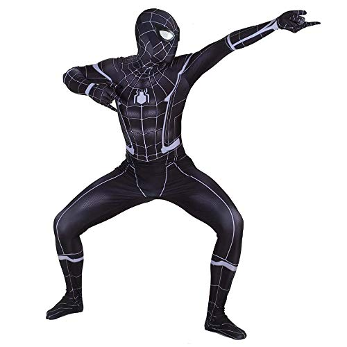 LCRBT Cosplay Kostüm Kinder Erwachsene Kostüm Weihnachten Halloween Body Spandex Overalls,Large-Children