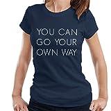 Photo de Fleetwood Mac Go Your Own Way Lyrics Women's T-Shirt par Coto7