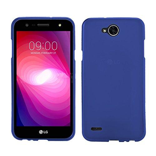 TBOC® Blau Gel TPU Hülle für LG X Power2 - LG X Power 2 (5.5 Zoll) Ultradünn Flexibel Silikonhülle