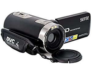 Tipps: 1. Alle FAQ über SEREE HDV-301S: https://www.facebook.com/notes/seree-camcorder/faq-about-seree-camcorder-hdv-301s/433758563663774/ 2. Formatieren Sie die SD-Karte: https://www.youtube.com/watch?v=B80RfKZN8t8 3.Stellen Sie den Camcorder wie...