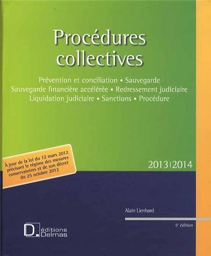 Procédures collectives 2013