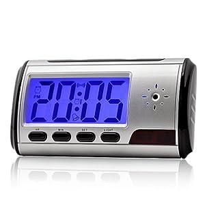 camaras espia ocultas precios: QUMOX Cámara Alarma Reloj Video Recorder Hidden Cam DVR de detección de movimien...