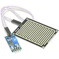 Kongnijiwa Nieve/Las Gotas de Lluvia detección del Sensor de Lluvia Módulo Módulo Tiempo, módulo del Sensor de detección de Humedad para Arduino