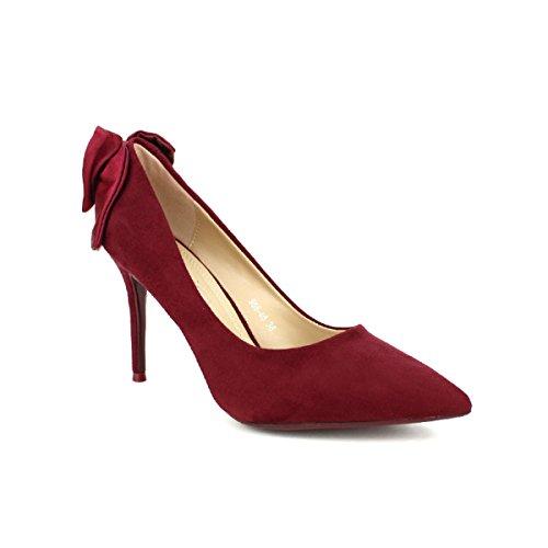 BO Bordeaux Bordeaux Moda Aime Escarpin Femme Cendriyon Chaussures 50IaqEnnZ