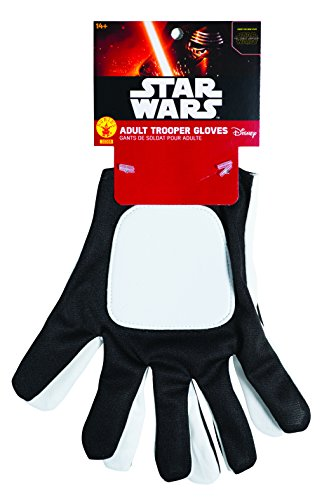 Rubie 's Offizielle Star Wars flametrooper Handschuhe, Erwachsenen-Kostüm–One Size