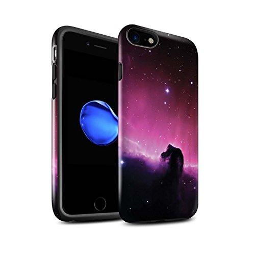 STUFF4 Glanz Harten Stoßfest Hülle / Case für Apple iPhone 6 / Ombre Herz/Liebe Muster / Lila Mode Kollektion Weltraumnebel