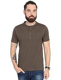 Urban Nomad Brown Cotton T-shirt