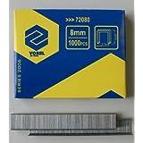 Vorel 72100–Agrafes de 10mm (0.7x 11.2) 1000pcs