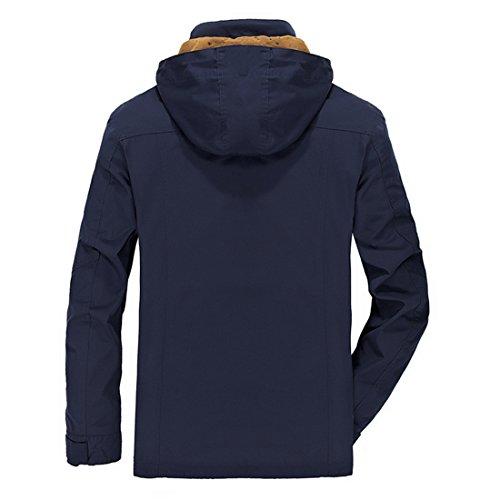 Kleidung für Herren ,top Staubmantel ,Neue Artikeln 2017Frühling ,zwei Farben zu wählen ,Sechs Size passen verscheidene Menschen . Blau