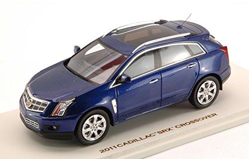 cadillac-srx-crossover-2011-imperial-blue-143-luxury-auto-stradali-modello-modellino-die-cast