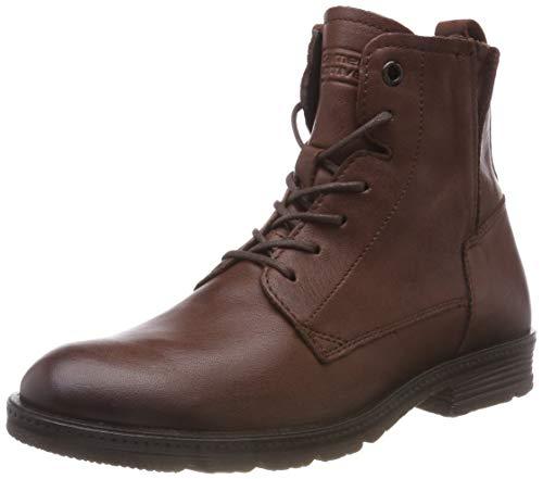 camel active Aged 70, Damen Biker Boots, Braun (Cognac 2), 43 EU (9 UK)