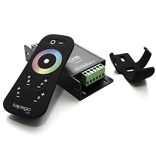 RF Steuergerät für LED RGBW 15A 12-24V 4 Kanäle 12 Spielprogramme Dimmer -
