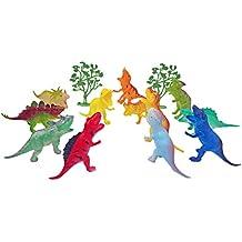 Popsugar Wild Dinosaur Kingdom Figures for Kids | 12 Dinosaur Figures,