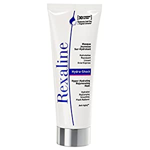 Rexaline - Hydra-Shock - Hyper-Hydrating Rejuvenating Mask - Moisturizing/Hydrating face mask - Anti wrinkle, anti aging and plumping face mask with Hyaluronic Acid - Cruelty free -75ml