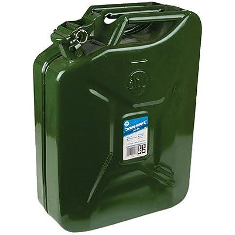Silverline 730799 - Bidón para líquidos (20 litros)