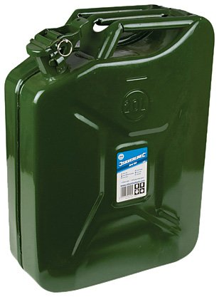 Silverline 730799 Jerry Can, 20 L