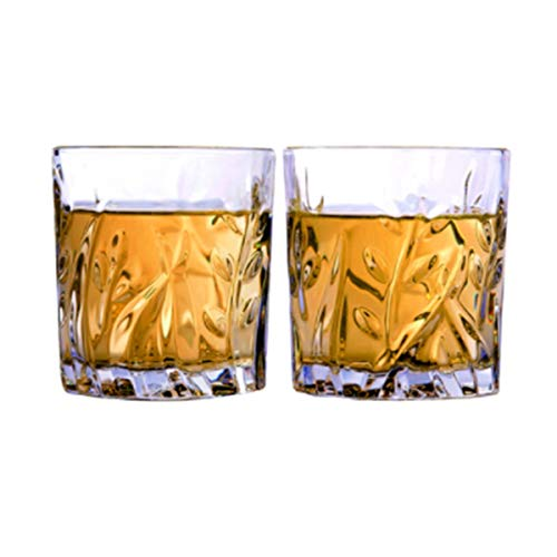 Bierkrüge, Bierkrüge, Bierglaswaren, Bierkrug, Weingläser, Weingläser aus Glas, 300 ml, Spirituosenglas, Set-Glas-Wasserbecher, Weidenbecher, Anzüge (2er-Packs) ( Color : Transparent , Size : 300ml ) Pilsner Becher-set