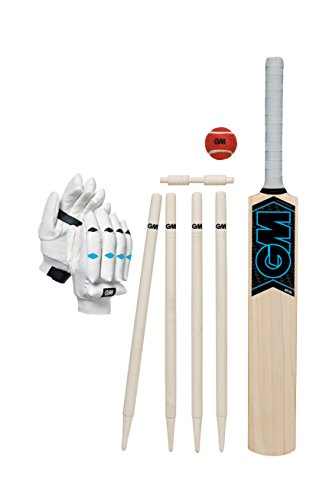 GM Kinder Neon Cricket-Set, Kinder, Neon, Blau