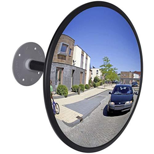Lorenlli V/élo V/élo Guidon R/étroviseur 360 /° Rotation Flexible Grand Angle Convexe Miroir V/élo C/ôt/é Vue Miroir