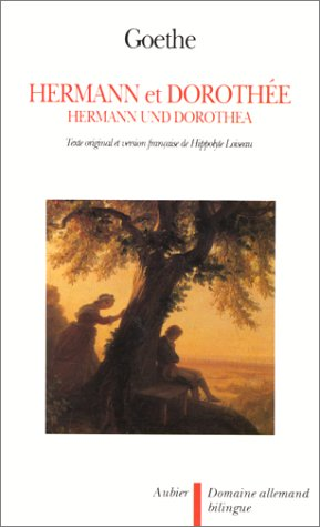 Hermann et Dorothée par Johann Wolfgang von Goethe