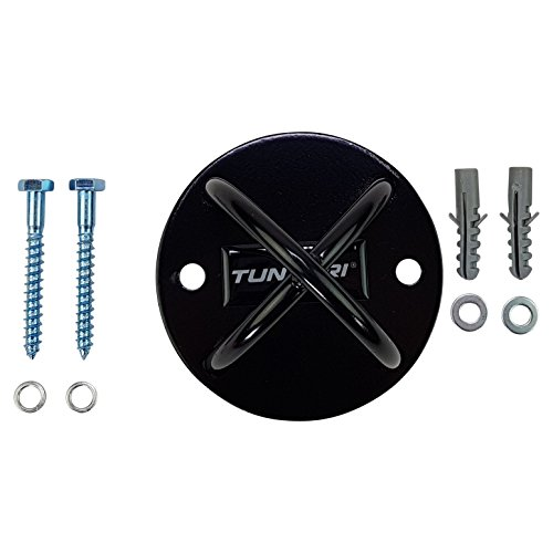 Tunturi-Unisex-Adult-Wall-Mount-Ceiling-mount-for-Suspension-Trainer-Black-47-inch