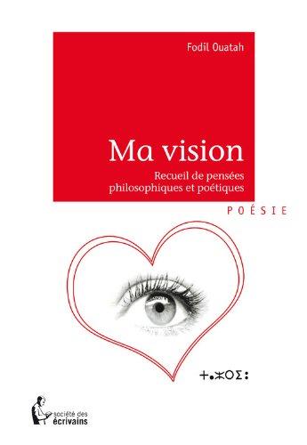 Téléchargement Ma vision pdf