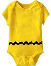 Peanuts Charlie Brown gelbes Kostüm Baby Onesie Romper
