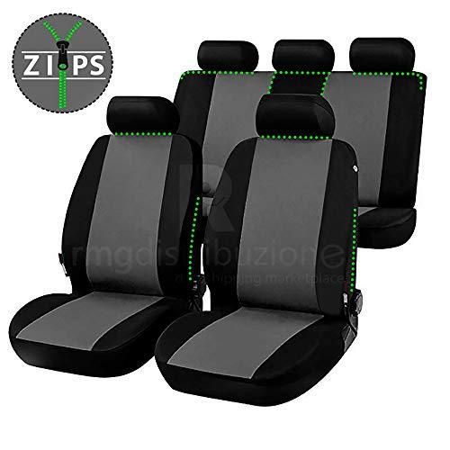 rmg-distribuzione Coprisedili per Modus Versione (2004-2012) compatibili con sedili con airbag, bracciolo Laterale, sedili Posteriori sdoppiabili R16S0721