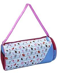 Shopaholic Cute Autumn Love Bird Design Duffle Bags For Kids/Teenagers-Blue