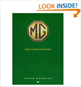 Book MG The Untold Story - Postwar Concepts, Styling, Exercises and Development Cars